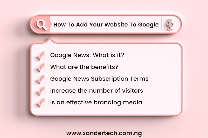How To Add Your Website To Google News