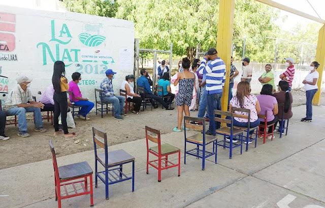 CNE HABILITA UN CENTRO DE VOTACIÓN EN CARORA PARA EL SIMULACRO ELECTORAL