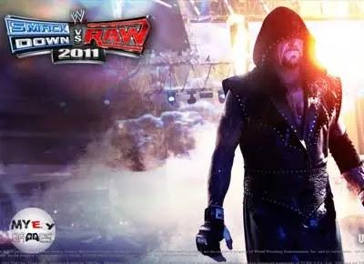 من داخل تحميل لعبة WWE SmackDown vs Raw 2011 للكمبيوتر برابط مباشر