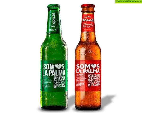 Compañía Cervecera apoyará con más de 60.000 euros a los afectados por el volcán de La Palma