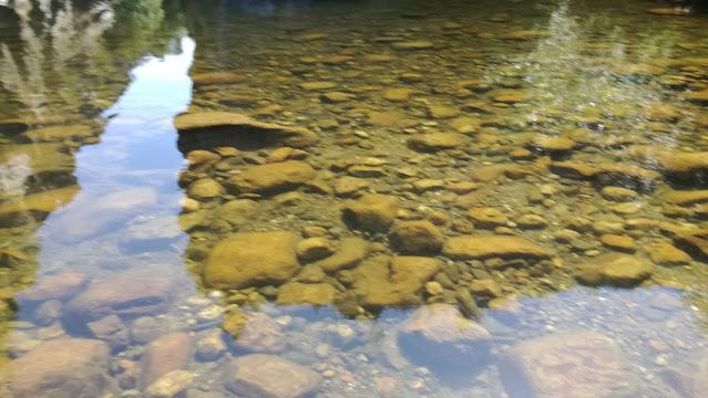 águas Cristalinas e Limpidas do Rio Ceira