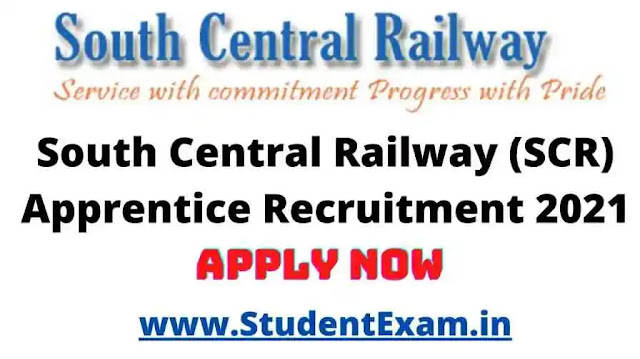 South Central Railway Apprentice 2021