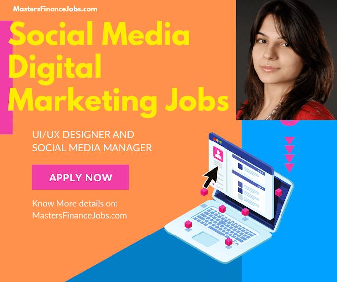 Social Media Digital Marketing Jobs | Digital Marketing Jobs