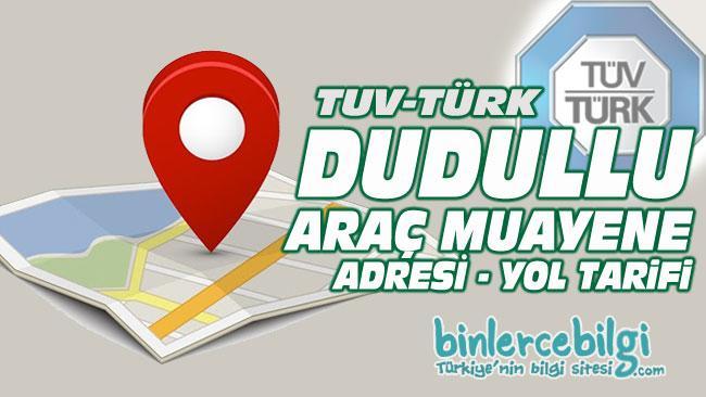 Dudullu araç muayene istasyonu, Dudullu araç muayene yol tarifi, Dudullu araç muayene randevu, adresi, telefonu, online randevu al.