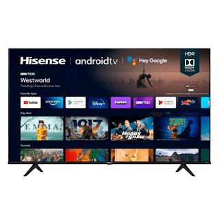"$550, 70"" Hisense 70A6G 4K UHD Smart Android LED HDTV"
