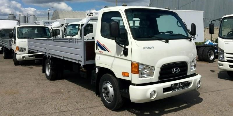Нацгвардія придбала п'ять вантажівок Hyundai HD-78