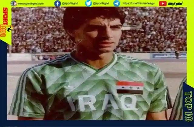 احمد راضي,اسطورة الكرة العراقية