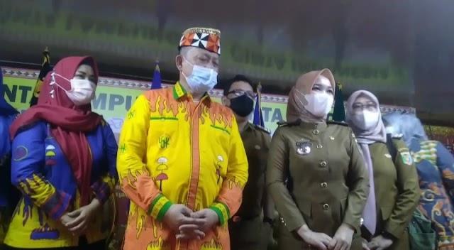 Kadis Parekraf Provinsi Lampung Silaturrahmi Ke Tokoh Adat Lampung di LGK