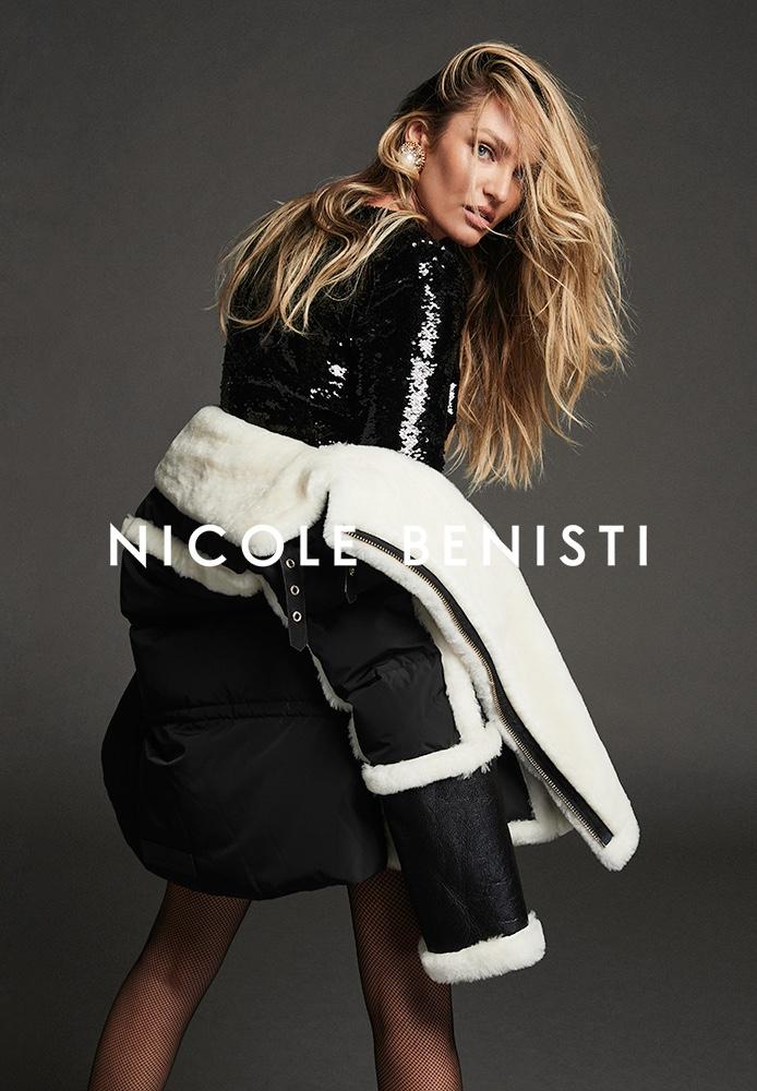 Supermodel Candice Swanepoel fronts Nicole Benisti fall-winter 2021 campaign