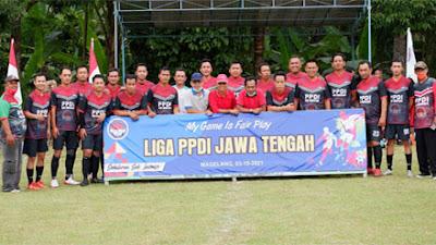 Magelang Jadi Tuan Rumah Liga Sepakbola PPDI