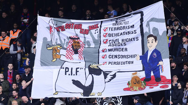 UK POLICE STATE SWINGS INTO ACTION AFTER FOOTBALL FANS TROLL SAUDI INVESTORS