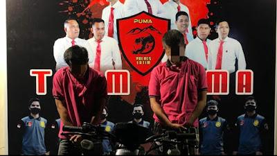 Tim Puma Polres Lotim Berhasil Menangkap Pembobol Kantor FIF Anjani dan Apotek Lenek