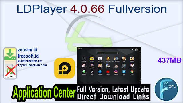 LDPlayer 4.0.66 Fullversion