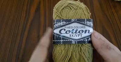 خيط cotton egypt مصري مصنوع 100% من القطن المصري