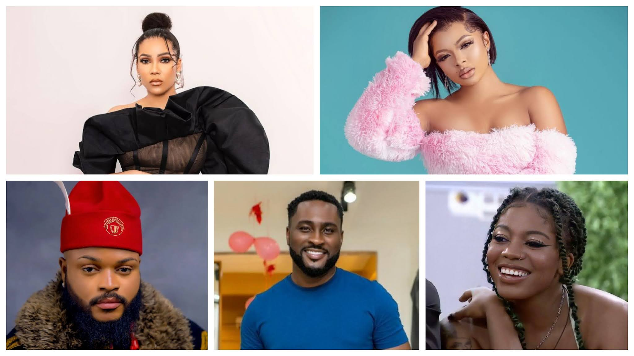 BBNaija: Pere emerges the 5th most followed housemate on Instagram, check who is first, second, third, and fourth