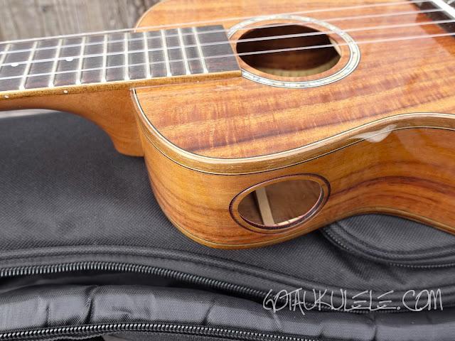 Kai KCI-5000 Concert Ukulele decor