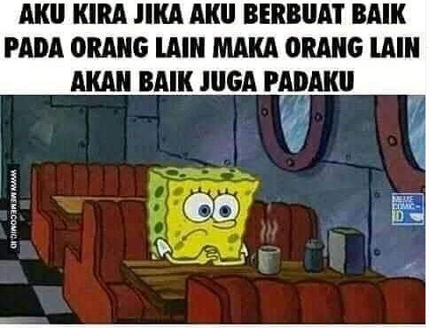 11 Meme Lucu 'SpongeBob' Ini Nyindir Abis Soal Kehidupan