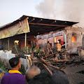 Diduga Lupa Matikan Tungku, Rumah di Pasirian Ludes Terbakar