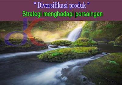 Diversifikasi produk   Strategi menghadapi persaingan