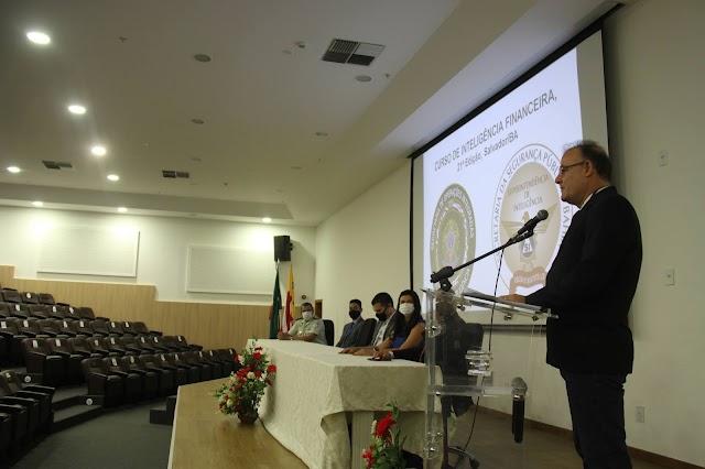 Secretaria de Segurança Pública sedia 21ª edição do Curso de Inteligência Financeira