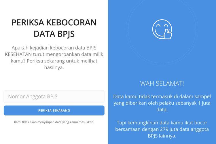 kebocoran data pengguna BPJS