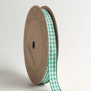 Green Plaid Gingham Ribbons For All Crafting Projects
