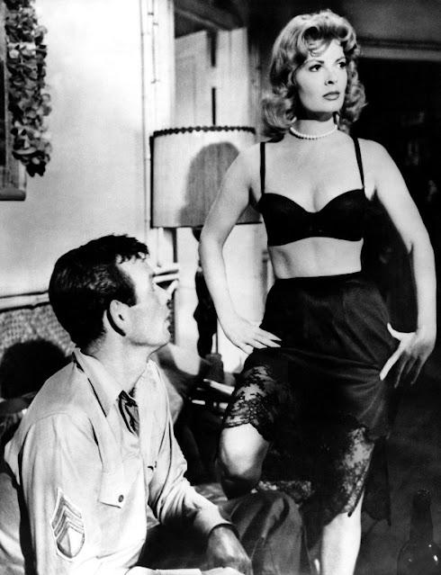 1960. David Jansen, Patricia Owens - Hell to eternity