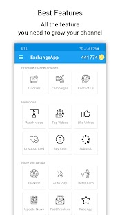 Download Exchange App Sub4sub MOD Apk Latest Version 2021