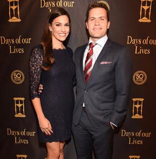 Kyle Brandt with his wife Brooke Brandt