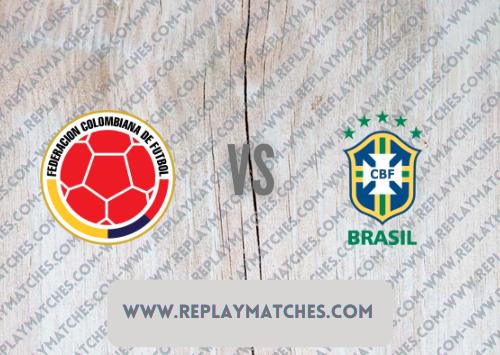 Colombia vs Brazil Full Match & Highlights 10 October 2021