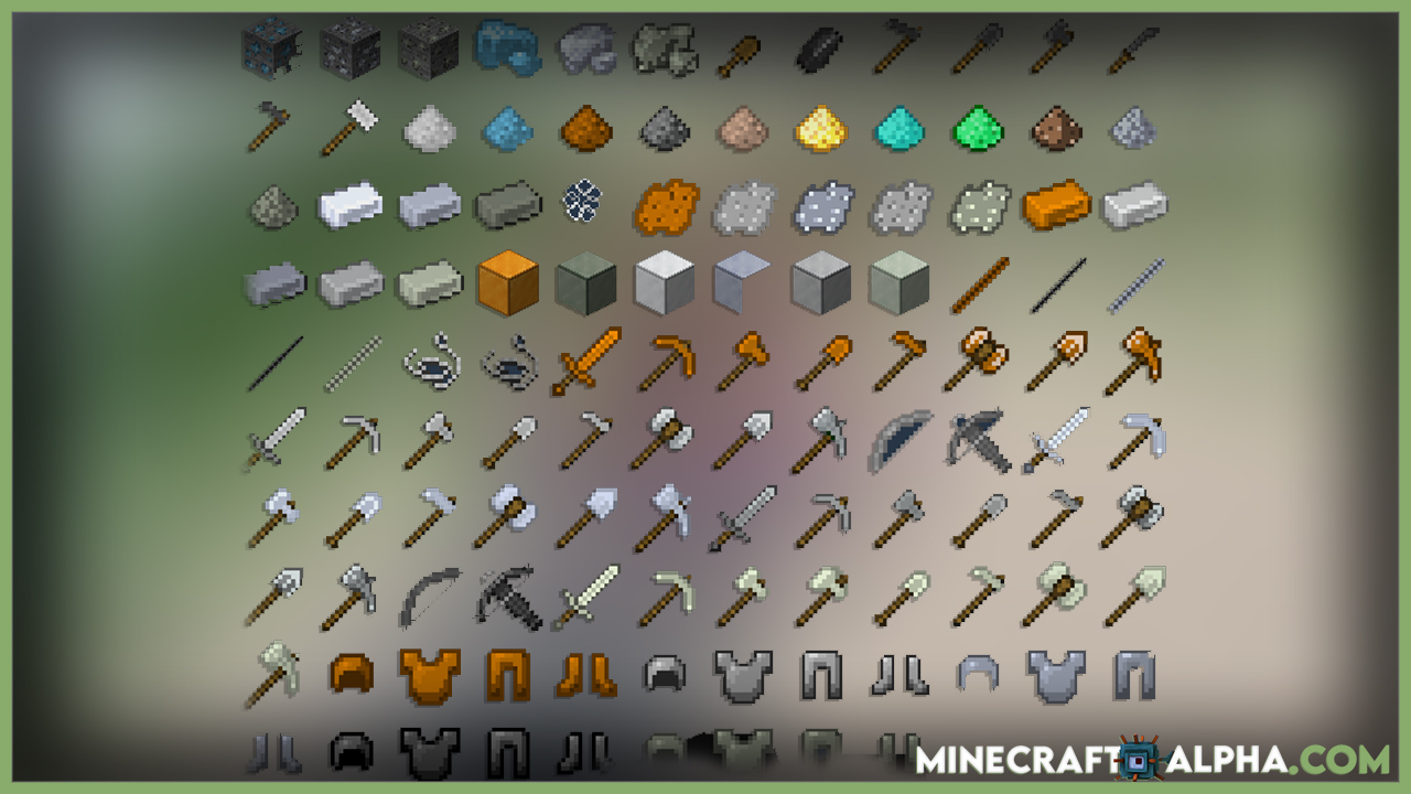 Easy Steel And More Mod 1.17.1