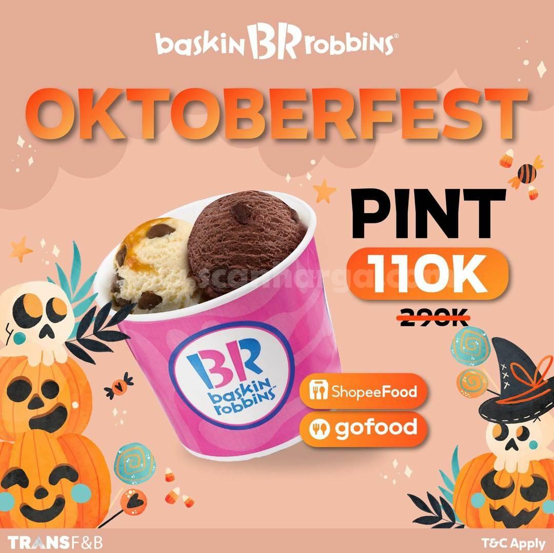 Promo BASKIN ROBBINS OKTOBERFEST – Special Price 1 Pint only Rp. 110.000