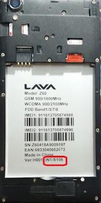 Lava Z60 Flash File (Stock ROM)