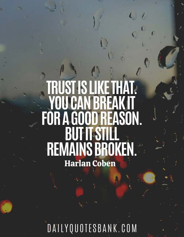 Sad Broken Trust Quotes For Relationships