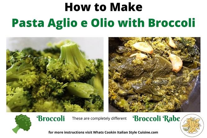 broccoli versus broccoli rabe