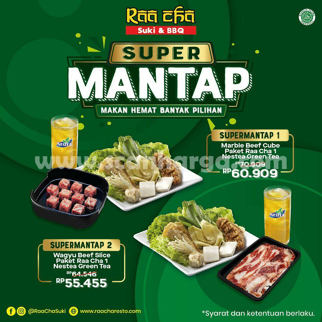 Promo RAA CHA SUKI - PAKET SUPER MANTAP! mulai Rp. 55.455