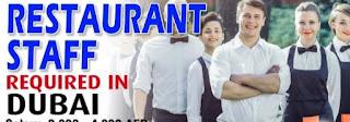 Restaurant Staff Jobs Vacancies In Dubai
