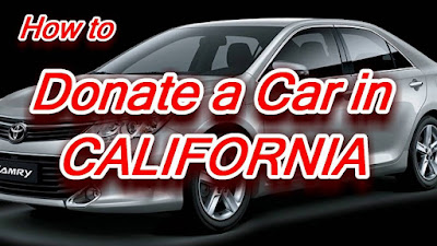 Donate Car to Charity California in 2021