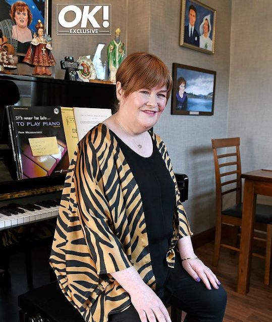 Susan Boyle's weight loss journey - how did Susan Boyle lose her weight