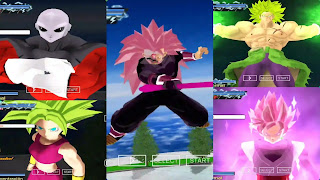 Super Dragon Ball Heroes Black Goku SSJ3 Rose
