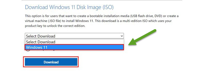 Cách Download Windows 11 ISO gốc từ Microsoft