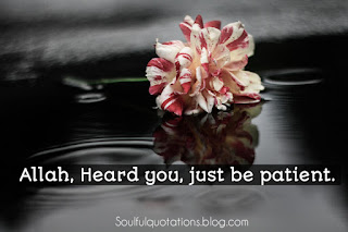 Be patient, patience quotes, why one should be patient.