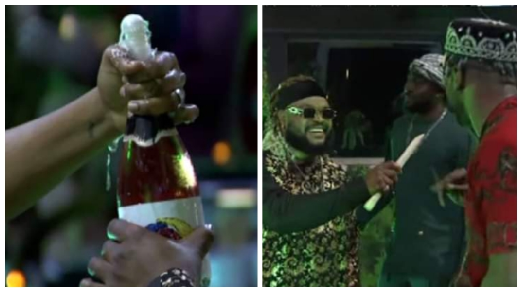 BBNaija: Check out pictures from the Top 6 dinner party, Liquorose looks super gorgeous