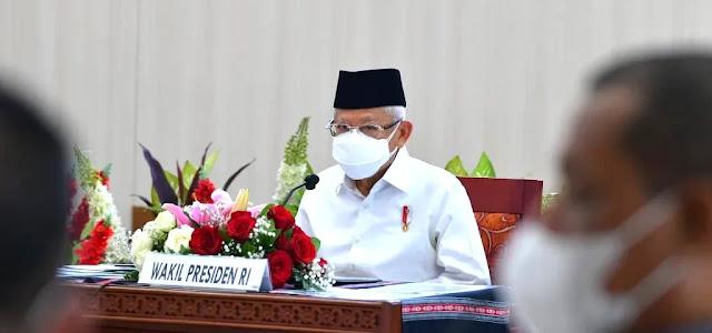 Ma'ruf Amin Sebut Penerima Bantuan Kemiskinan Ekstrem Harus Tepat Sasaran.lelemuku.com.jpg