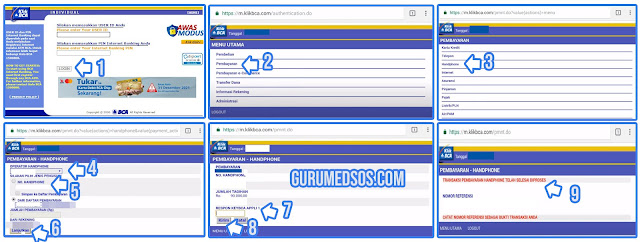Cara Bayar Indosat Pascabayar Via Internet Banking BCA