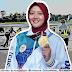 Mantap Betul! Risa Setyawati, Atlet Terbang Layang Asal Panawangan Ciamis, Raih Medali Emas PON XX Papua