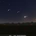 Już niebawem ciekawy układ na wieczornym niebie. 3 planety i Księżyc w jednej linii