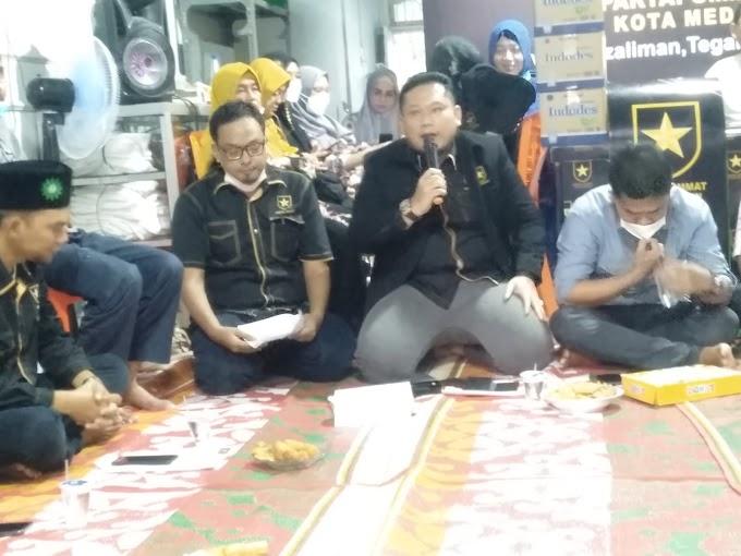 Partai Ummat Kota Medan Gelar Silaturrahim Pengurus