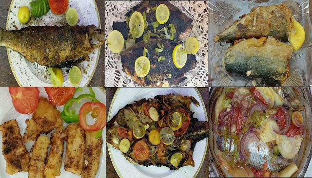 طرق مختلفة لعمل أشهر انواع الأسماك المصرية ( بلطى - بورى - بلاميطة )