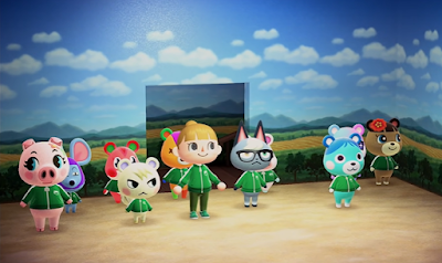 Animal Crossing: New Horizons recreates the first episode of Squid Games